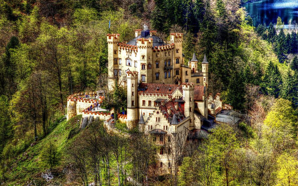 Billets pour les châteaux Schloss Neuschwanstein et Hohenschwangau.