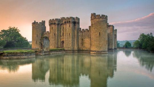 Château de Bodiam en Grande Bretagne