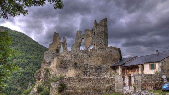 Château d'Usson en France