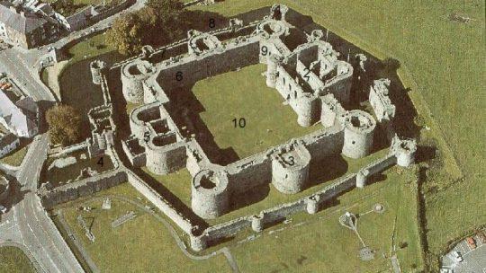 Point culminant dans la conception des châteaux….. et le déclin