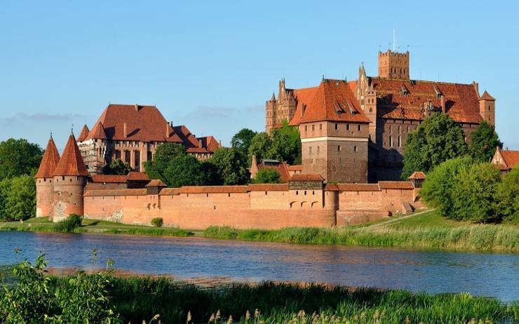 Château de Malbork, le plus grand château du monde