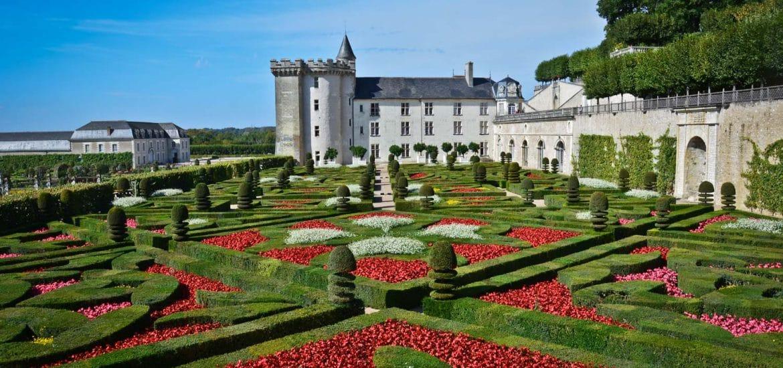 Visite des Jardins du Château de Villandry près de Tours ...