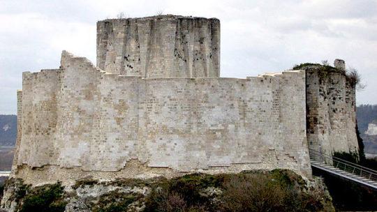 Château de Gaillard en Normandie