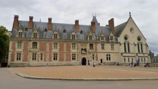 Château de Blois sur la Loire