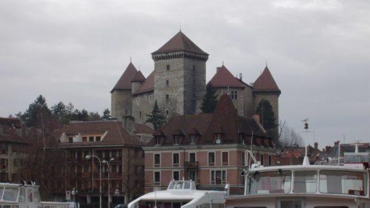 Château d'Annecy en Haute-Savoie
