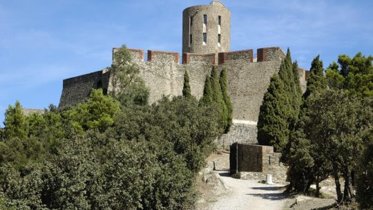 Fort Saint Elme, entre Collioure et Port-Vendres