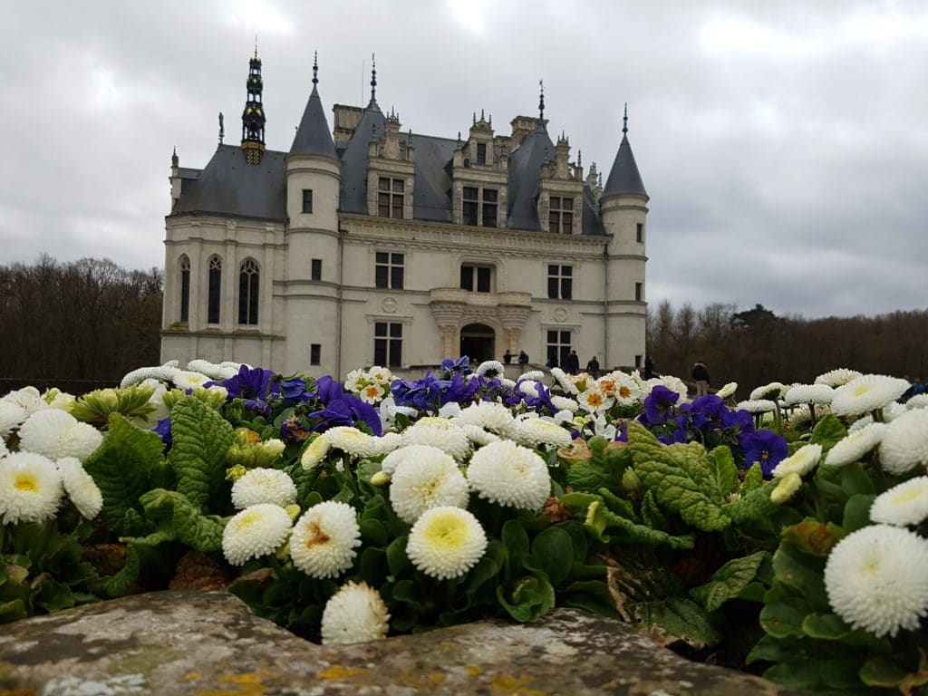 Faire une sélection des châteaux de la Loire que vous voulez voir